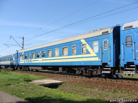 Первый поезд симферополь-москва переплыл через керченский пролив